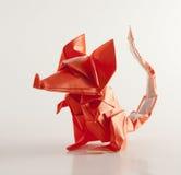 vue avant d'origami de souris Images stock