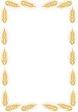 Vue avec l'oreille du blé illustration stock