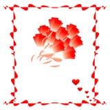 Vue avec la fleur Illustration Stock