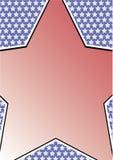 Vue avec la grande étoile Photos libres de droits