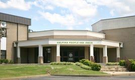 Vue Baptist Church, Memphis, TN de sycomore Image stock