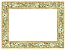 Vue baroque d'or avec la patine vert clair photo libre de droits