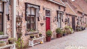 Vue Buren de village Gueldre, Pays-Bas images stock