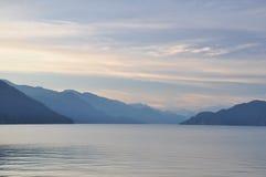 Vue célèbre de lac springs thermales de Harrison image stock