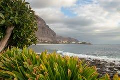 Vue côtière à Valle Gran Rey, La Gomera, îles Canaries photo libre de droits