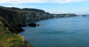 Vue côtière, comté Antrim, Irlande du Nord images libres de droits