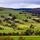 Vue Castleton de vallée Images stock