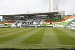 Vue centrale des sièges chez Estadio Léon, Léon, Guanajuato images libres de droits