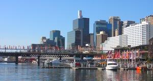 Vue chérie de port, Sydney Photos stock