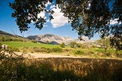 Vue chez les Pyrénées espagnols Photographie stock