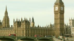 Vue classique de Big Ben clips vidéos