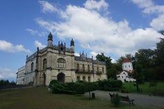 Vue commune de palais de Zugdidi Dadiani images libres de droits