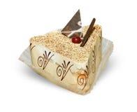 Vue crème de fin de gâteau Photo libre de droits