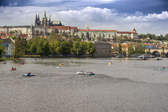 Vue Czechia de Prague Image libre de droits