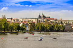 Vue Czechia de Prague Photos libres de droits