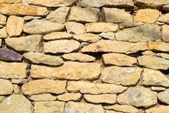 Texture de vieux mur en pierre Photographie stock libre de droits