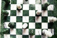 Vue d'échecs Photo stock