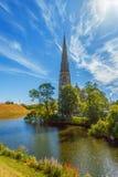Vue d'Église Anglicane de St Alban copenhague denmark photos libres de droits