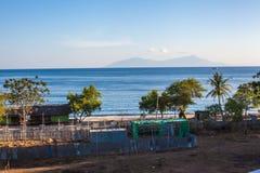 Vue d'île d'atauru Photo libre de droits