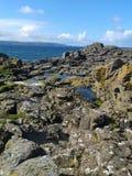 Vue d'île de Rathlin Image libre de droits