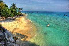Vue d'île la mer Images libres de droits