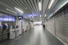 Vue d'aéroport de Taichung Photos libres de droits