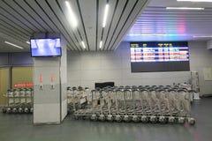Vue d'aéroport de Taichung Image libre de droits