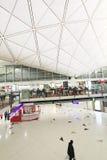 Vue d'aéroport international de Hong Kong Image libre de droits