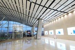 Vue d'aéroport international de Hong Kong Photos libres de droits