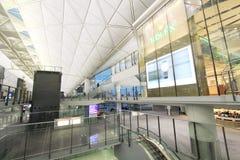 Vue d'aéroport international de Hong Kong Image stock