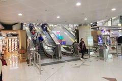 Vue d'aéroport international en Hong Kong Photos libres de droits