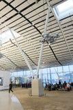 Vue d'aéroport international en Hong Kong Images stock