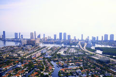 Vue d'Aerila à Miami photo libre de droits