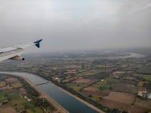 Vue d'Aerrial d'Ahmedabad Images stock