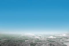 Vue d'air Photographie stock