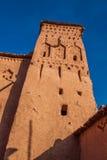 Vue d'Ait Benhaddou Kasbah, Ait Ben Haddou, Ouarzazate, Morocc Photos libres de droits