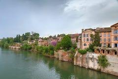 Vue d'Albi, France photographie stock