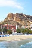 Vue d'Alicante Images stock