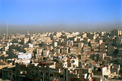 Vue d'Amman, Jordanie Photo stock