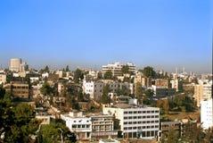 Vue d'Amman, Jordanie Photo libre de droits
