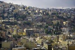 Vue d'Amman. La Jordanie. Image libre de droits