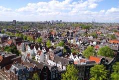 Vue d'Amsterdam Photographie stock libre de droits