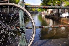 Vue d'Amsterdam Photographie stock