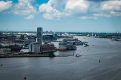 Vue d'Amsterdam photo stock