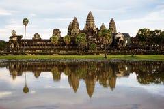 Vue d'Angkor Wat Image libre de droits