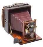 Vue d'angle d'appareil-photo antique Image libre de droits
