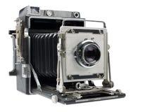 Vue d'angle d'appareil-photo antique Images libres de droits