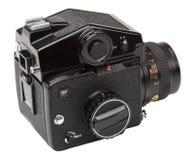Vue d'angle d'appareil-photo moyen de format Images stock