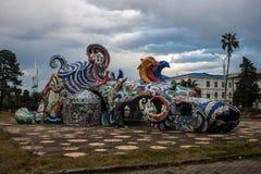 Vue d'architecture moderne à Batumi, Photographie stock