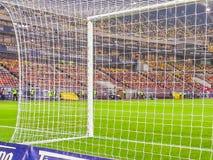 Vue d'arhitecture de stade en plaçant des parties Images libres de droits